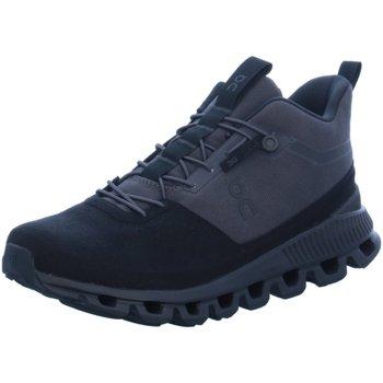 Schuhe Herren Laufschuhe On Sportschuhe black Cloud high eclipse grau