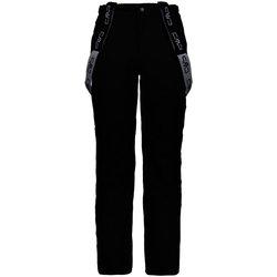 Kleidung Herren Shorts / Bermudas Cmp Sport Bekleidung NOS He.-Ski Strech Pant mit Tr 3W17397N 90BG schwarz