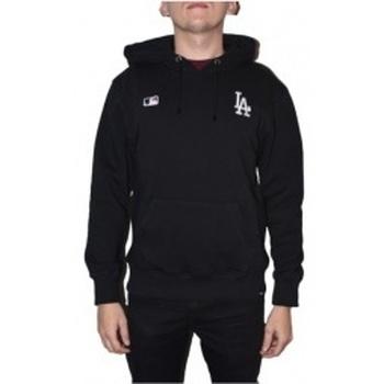 Kleidung Herren Sweatshirts 47 Brand MLB Los Angeles Dodgers Hoodie Schwarz