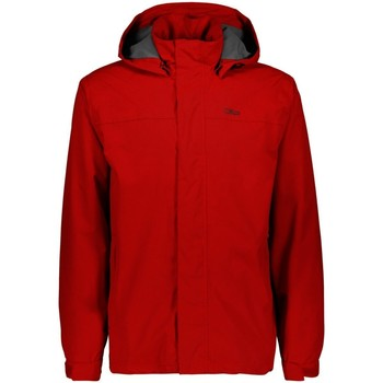 Kleidung Herren Jacken Cmp Sport MAN JACKET BUTTONS HOOD 39X7367-C580 rot