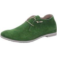 Schuhe Damen Derby-Schuhe Donna Carolina Stiefeletten D.Halbschuhe 43.673.027-006 grün