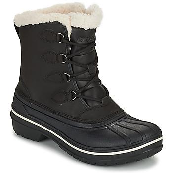 Schuhe Damen Boots Crocs ALL CAST II BOOT W Schwarz