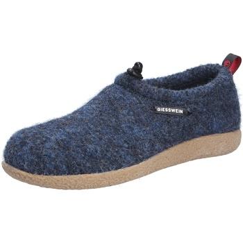 Schuhe Damen Hausschuhe Giesswein Damen Hausschuhe blau