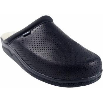 Schuhe Herren Pantoffel Bienve 31 Herren Schuh blau anatomisch verstopfen Blau