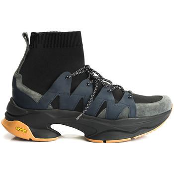 Schuhe Herren Sneaker High Cerruti 1881  Blau
