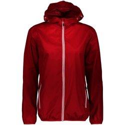 Kleidung Jungen Windjacken Cmp Sport  NOS Da. Regenjacke mit Kapuze 3X53256 37CC rot