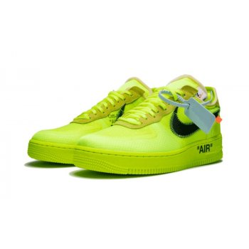 Schuhe Sneaker Low Nike Air Force 1 Low x Off White