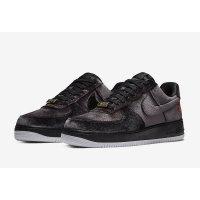 Schuhe Sneaker Low Nike Air Force 1 Low Black Velvet Black/Black/White