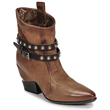 Schuhe Damen Boots Airstep / A.S.98 TINGET Braun