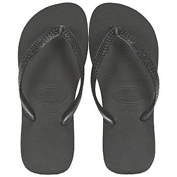 Schuhe Zehensandalen Havaianas TOP Schwarz