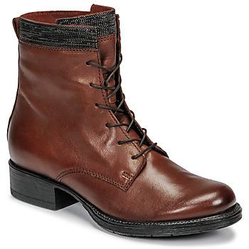 Schuhe Damen Boots Mjus NORTON Braun