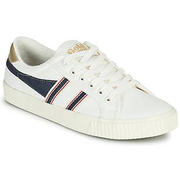 Schuhe Damen Sneaker Low Gola TENNIS MARK COX SELVEDGE Weiss / Blau