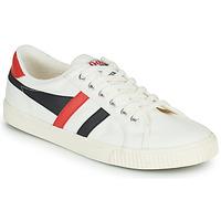 Schuhe Herren Sneaker Low Gola TENNIS MARK COX Weiss / Schwarz / Rot