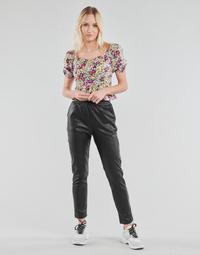Kleidung Damen 5-Pocket-Hosen Yurban OPATI Schwarz
