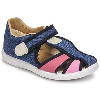 Schuhe Mädchen Sandalen / Sandaletten Citrouille et Compagnie GUNCAL Blau