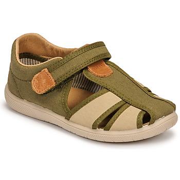 Schuhe Jungen Sandalen / Sandaletten Citrouille et Compagnie GUNCAL Kaki