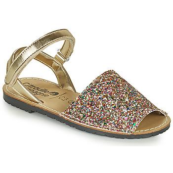 Schuhe Mädchen Sandalen / Sandaletten Citrouille et Compagnie SQUOUBEL Multifarben