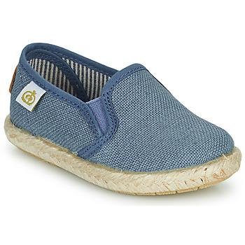 Schuhe Jungen Sneaker Low Citrouille et Compagnie OSIOUP Blau