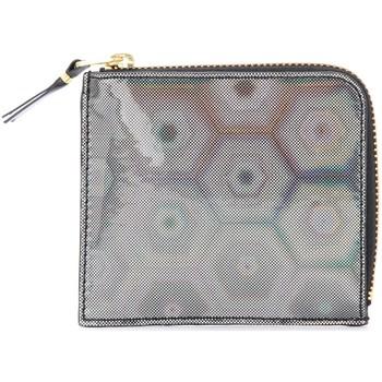 Taschen Damen Portemonnaie Comme Des Garcons Comme Des Garçons Portemonnaie Wallet Black Rainbow Schwarz