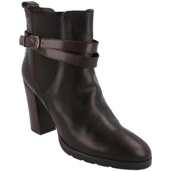 Schuhe Damen Low Boots Belset  Marrón
