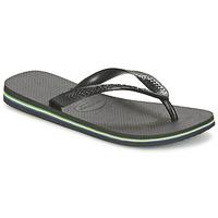 Schuhe Zehensandalen Havaianas BRASIL Schwarz