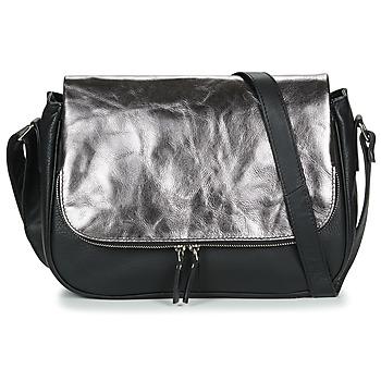 Taschen Damen Umhängetaschen Betty London EZIGALE Schwarz / Silbern