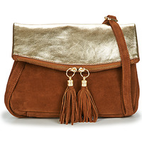 Taschen Damen Umhängetaschen Betty London OOSTI Cognac / Gold