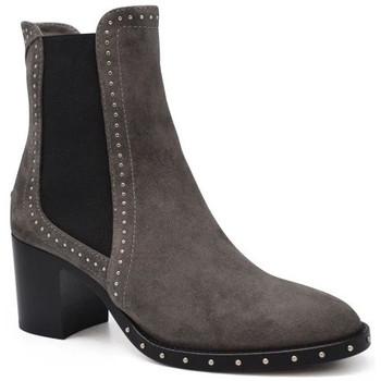 Schuhe Damen Low Boots Jimmy Choo  Grau