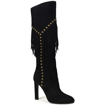 Schuhe Damen Klassische Stiefel Saint Laurent  Schwarz
