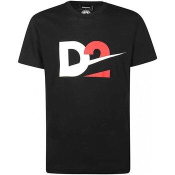 Kleidung Herren T-Shirts Dsquared S74GD0728 Schwarz