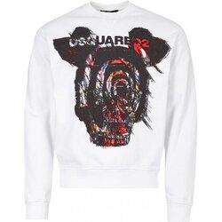 Kleidung Herren Sweatshirts Dsquared S71GU0312 Weiss
