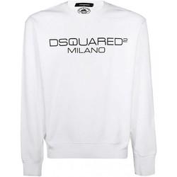 Kleidung Herren Sweatshirts Dsquared S74GU0399 Weiss