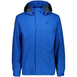 Kleidung Herren Jacken Cmp Sport MAN RAIN SNAPS HOOD JACKET 39X7367 L876 INDIGO blau