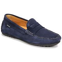 Schuhe Herren Slipper Pellet Cador Blau
