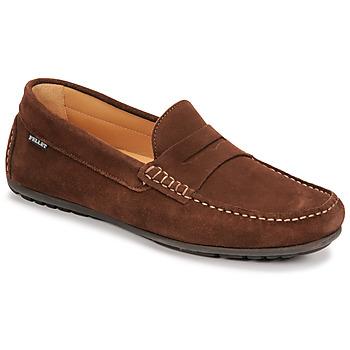 Schuhe Herren Slipper Pellet Cador Braun
