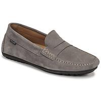 Schuhe Herren Slipper Pellet Cador Grau