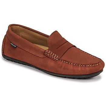 Schuhe Herren Slipper Pellet Cador Rot