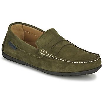 Schuhe Herren Slipper Pellet Cador Kaki