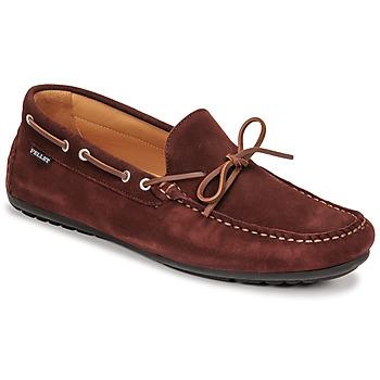Schuhe Herren Slipper Pellet Nere Bordeaux