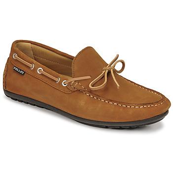 Schuhe Herren Slipper Pellet Nere Braun