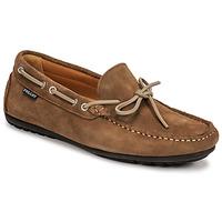 Schuhe Herren Slipper Pellet Nere Maulwurf