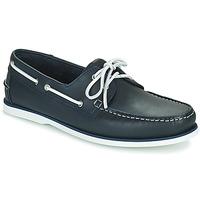 Schuhe Herren Bootsschuhe Pellet Vendée Blau