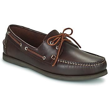 Schuhe Herren Bootsschuhe Pellet Vendée Braun