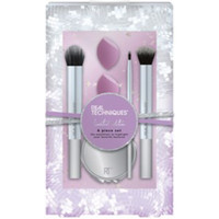 Beauty Damen Pinsel Real Techniques Poppin Perfection Set 6 Pz 6 u