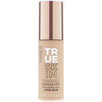 Beauty Damen Make-up & Foundation  Catrice True Skin Hydrating Foundation 030-neutral Sand