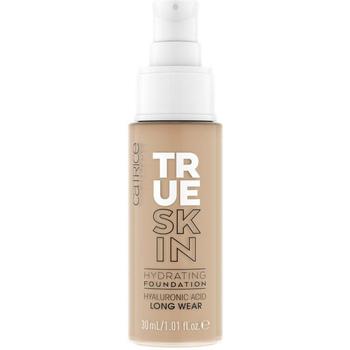 Beauty Damen Make-up & Foundation  Catrice True Skin Hydrating Foundation 046-neutral Toffee 30 ml