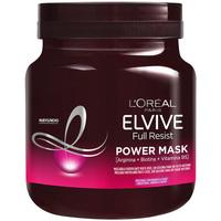 Beauty Damen Spülung L'oréal Elvive Full Resist Power Mask  680 ml