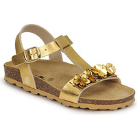 Schuhe Mädchen Sandalen / Sandaletten Citrouille et Compagnie KAPIBA Gold
