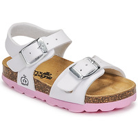 Schuhe Mädchen Sandalen / Sandaletten Citrouille et Compagnie RELUNE Weiss