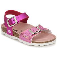 Schuhe Mädchen Sandalen / Sandaletten Citrouille et Compagnie RELUNE Rose